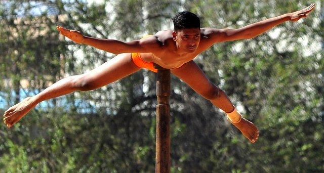 Hindistan'ın tuhaf sporu
