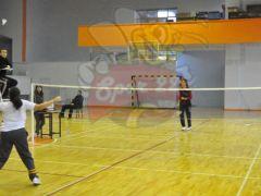 Badminton heyecanı EAL'de devam ediyor