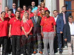 Periler'den Başkan'a ziyaret